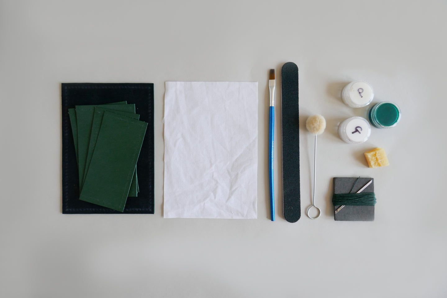 Make a Leather Card Wallet: Course + Kit