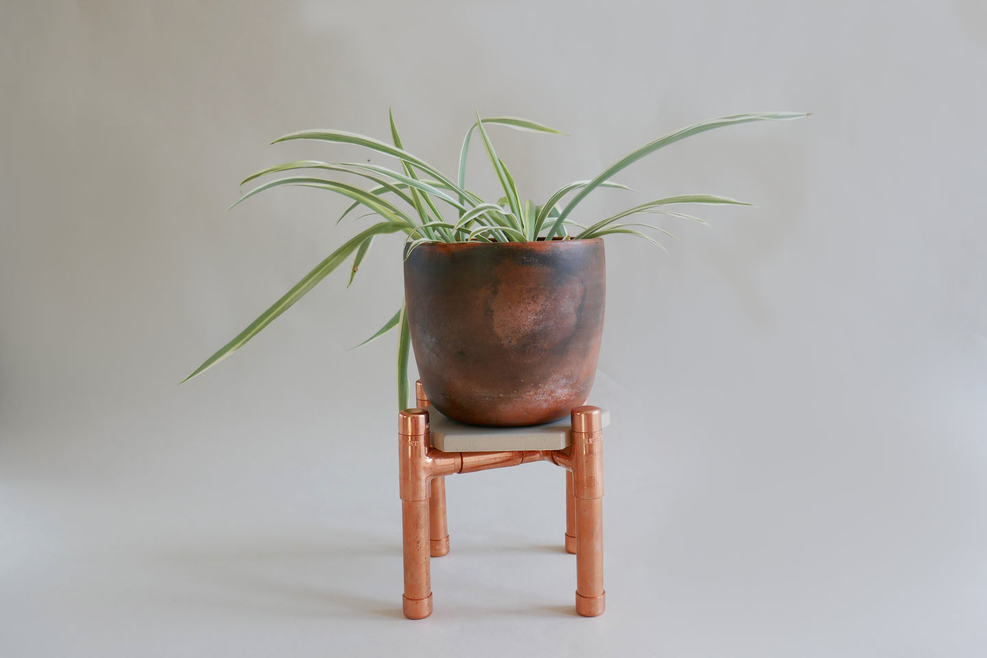 Make a desk copper plant stand: Course + Kit