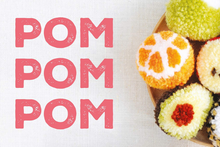 Load image into Gallery viewer, Make a maki sushi roll pompom