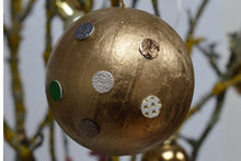 Load image into Gallery viewer, Make an Upcycled Dotty Leather Bauble: Kit + Guide
