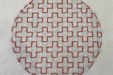 Load image into Gallery viewer, Learn Hitomezashi Sashiko embroidery: Kit + Guide