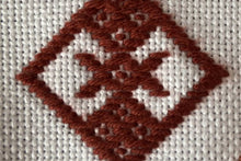 Load image into Gallery viewer, Learn Kogin counted thread Sashiko embroidery: Kit + Guide