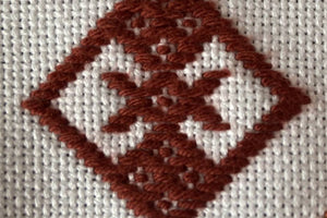 Learn Kogin counted thread Sashiko embroidery: Course and Kit