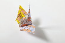 Load image into Gallery viewer, Make an origami tsuru crane