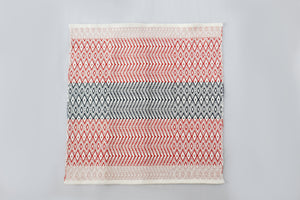 Handwoven baby blanket by Whelan's Weaving