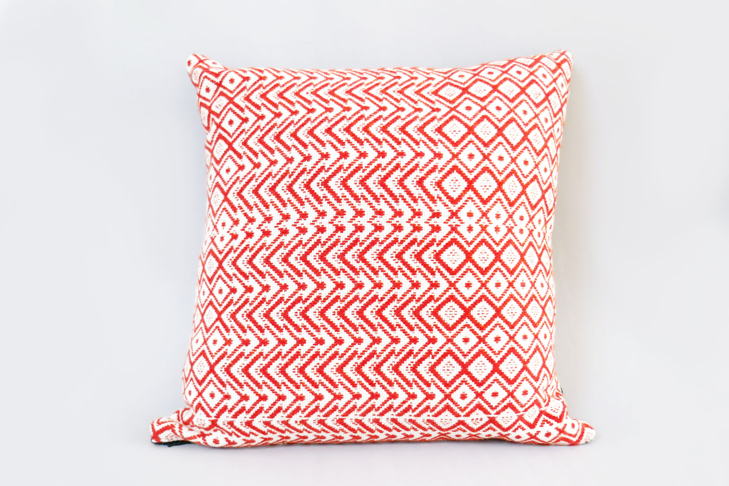 Handwoven cushion by Whelan's Weaving