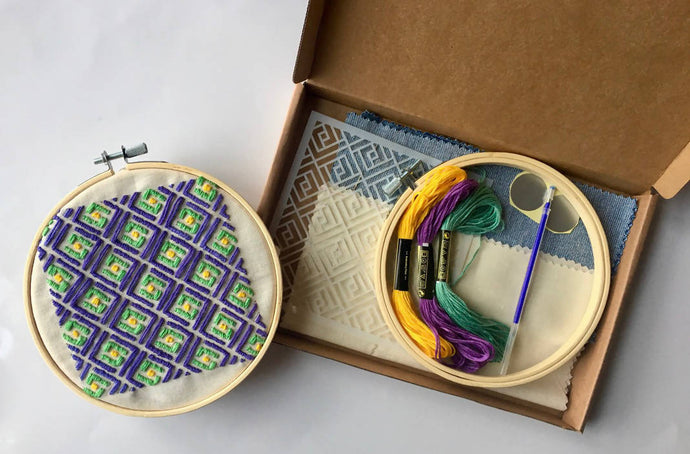 Creation box - Beginner embroidery: Kit + Guide