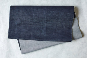 A piece of high quality denim from Hiut Denim.