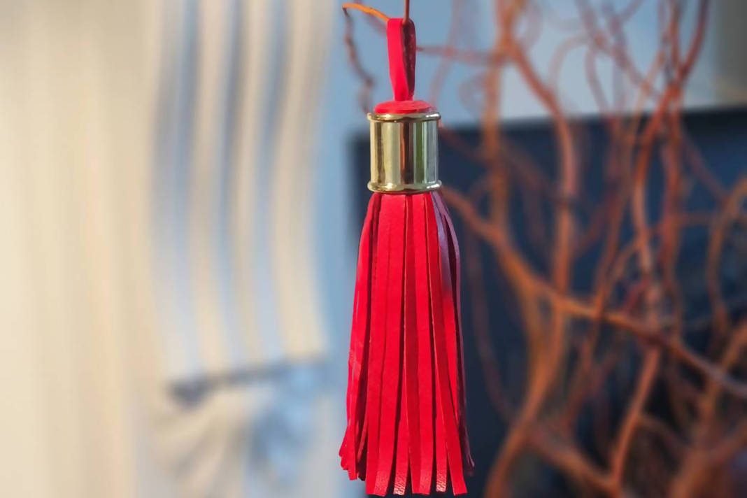 Make a Leather Tassel: Kit + Guide