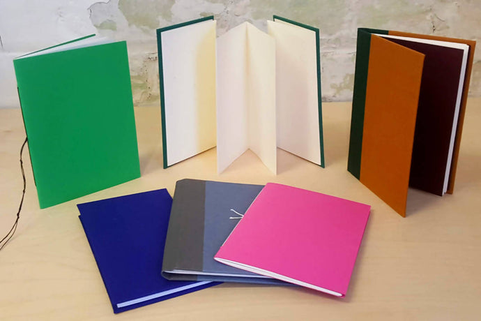 Bookbinding Kit: Learn to make a Single Section Notebook, Concertina Binding and Pamphlet Binding