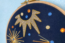 Load image into Gallery viewer, Make an Art Deco Goldwork Embroidery: Course + Kit