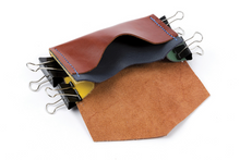 Load image into Gallery viewer, Learn to hand stitch a small leather purse