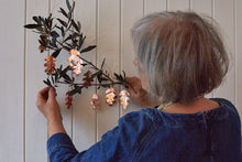 Load image into Gallery viewer, Make a leafy copper garland