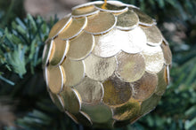 Load image into Gallery viewer, Make an Upcycled Leather Christmas Bauble: Course + Kit