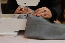 Load image into Gallery viewer, Barley Massey showing you how to sew using a sewing machine.