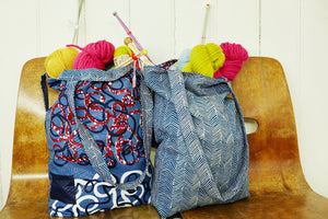 Sew a reversible tote bag