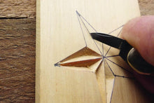Load image into Gallery viewer, Carve a wooden star decoration