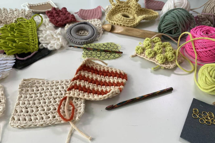 Learn to Crochet Masterclass: Course + Kit