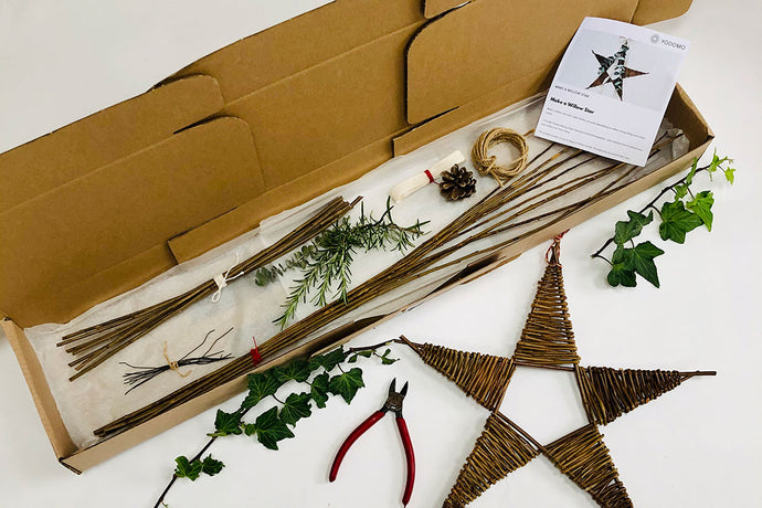 Make a willow star: Kit + Guide