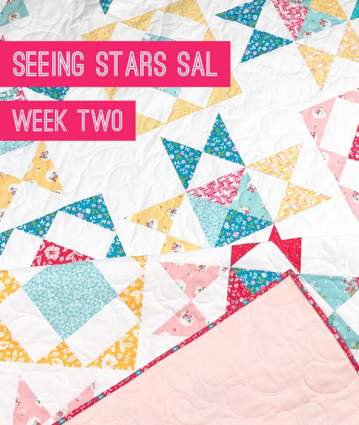 Seeing Stars Sew Along-Week Two