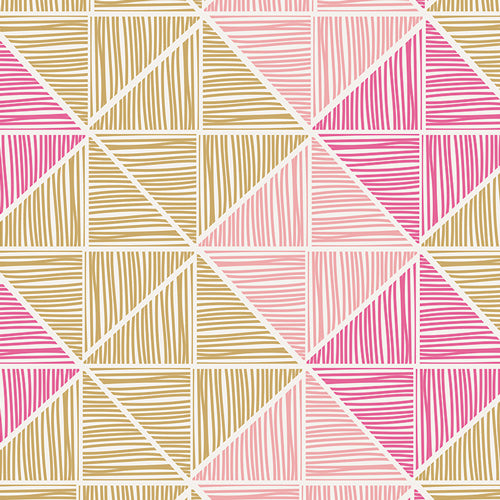 Angular Strings from Chalk and Paint by Caroline Hulse for Art Gallery Fabrics