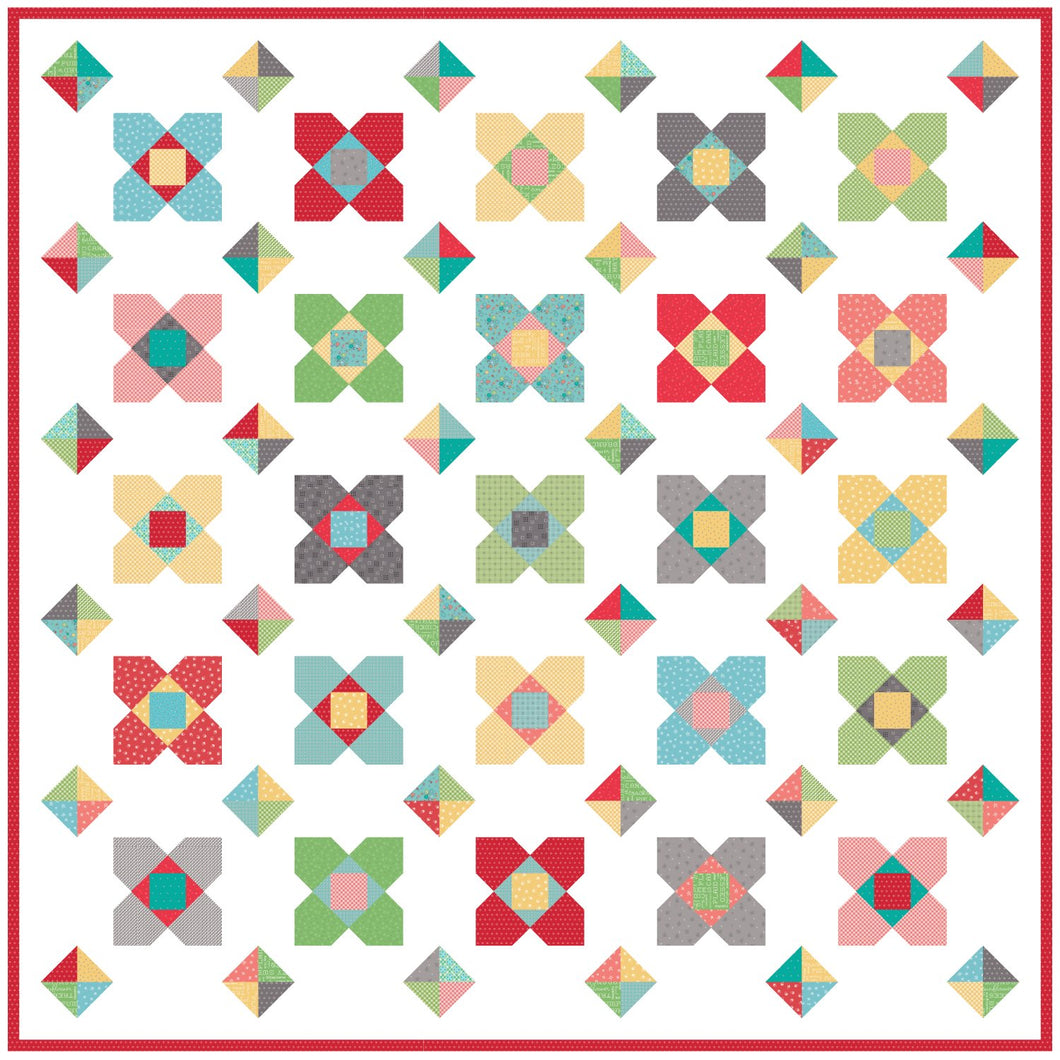 Blossom Quilt Pattern by Lindsey Weight for Primrose Cottage Quilts