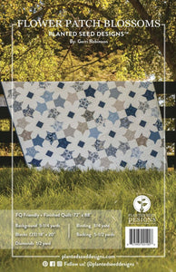 Blossom Quilt Pattern by Gerri Robinson
