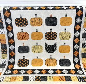Boo Bash Quilt Pattern by Lindsey Weight for Primrose Cottage Quilts