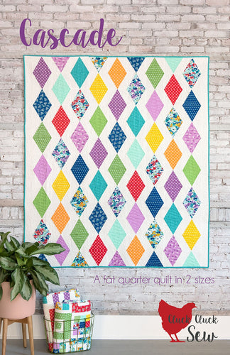 Cascade Quilt Pattern by Alison Harris for Cluck Cluck Sew