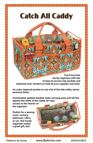Catch All Caddy Pattern by Annie