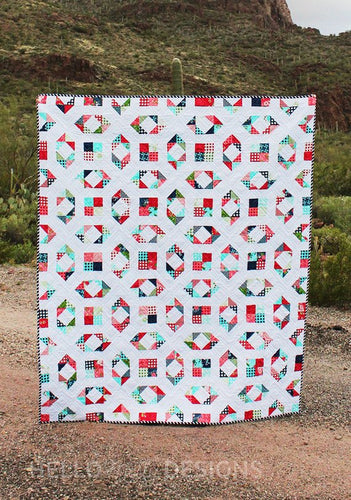 Chipper Quilt Pattern by Hello Melly Designs