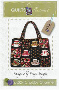 Chubby Charmer Large Tote Bag Pattern by Penny Sturges for Quilts Illustrated