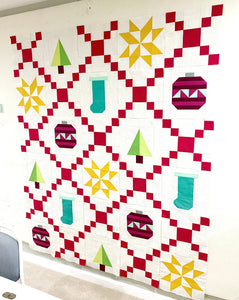Christmas Chain Quilt Kit