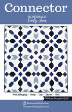 Load image into Gallery viewer, Connector Quilt Pattern by Emily Tindall of Homemade Emily Jane
