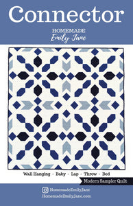 Connector Quilt Pattern by Emily Tindall of Homemade Emily Jane