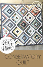 Load image into Gallery viewer, Conservatory Quilt Pattern by The Cloth Parcel