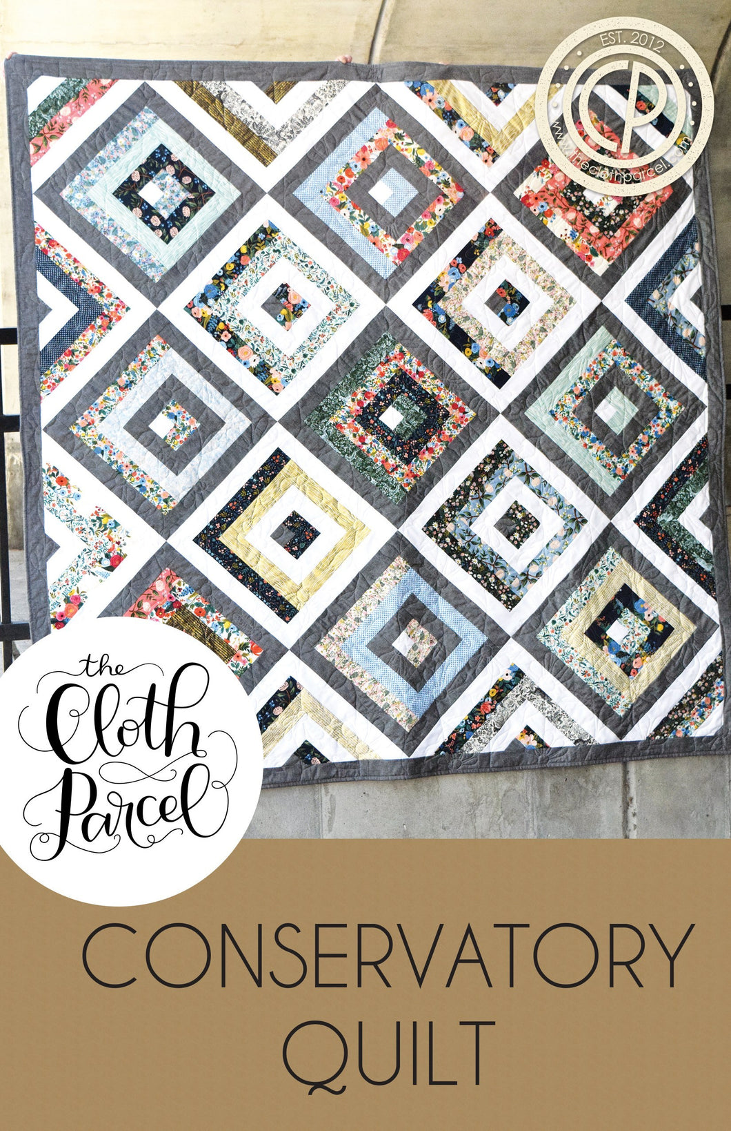 Conservatory Quilt Pattern by The Cloth Parcel