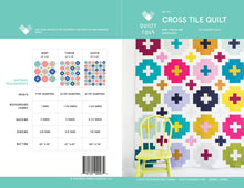 Load image into Gallery viewer, Cross Tile Quilt Pattern by Emily Dennis of Quilty Love