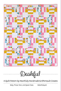 Dashful Modern Quilt Kit with Oasis Fabrics