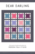 Load image into Gallery viewer, Dear Darling Quilt Pattern by Modern Folk Studio