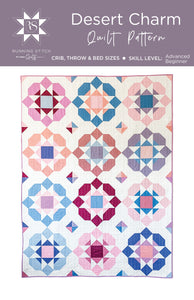 Desert Charm Quilt Pattern by Running Stitch Quilts