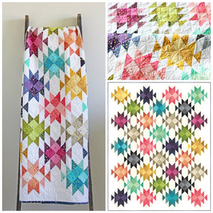 Dude Ranch Ombre Quilt Pattern by Vanessa Christenson of V and Co