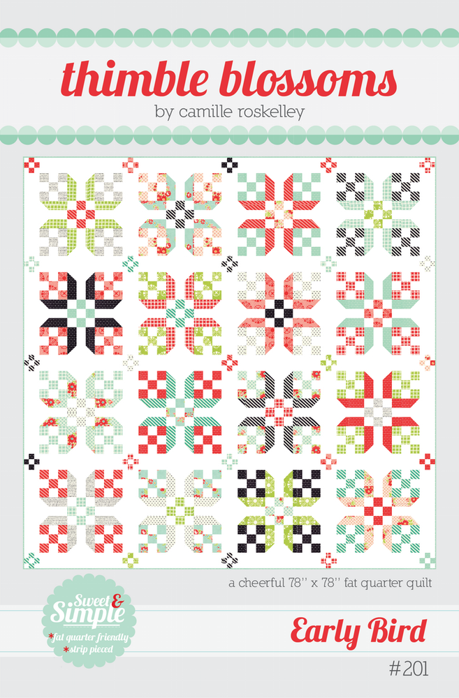 Early Bird Quilt Pattern by Thimble Blossoms