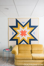 Load image into Gallery viewer, Expanding Stars Quilt Pattern by Emily Dennis of Quilty Love