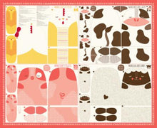 Load image into Gallery viewer, Farm Fun Farm Animal Panel by Stacy Iest Hsu for Moda Fabrics