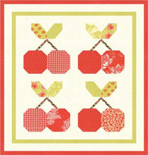 Load image into Gallery viewer, Cherry Pie Mini Quilt Kit by Fig Tree and Co