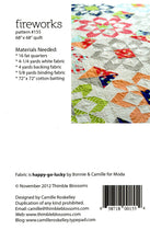 Load image into Gallery viewer, Fireworks Quilt Pattern by Thimble Blossoms