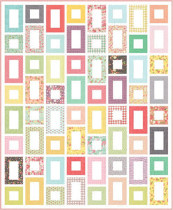 Framed Quilt Pattern by Lindsey Weight for Primrose Cottage Quilts