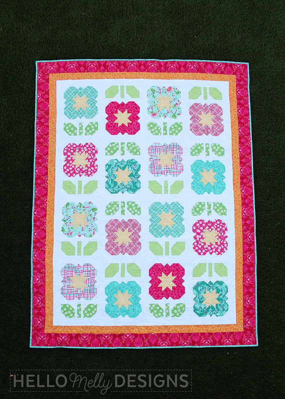 Garden Grow Quilt Pattern by Hello Melly Designs
