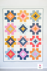 Glowing Quilt Pattern by Emily Dennis of Quilty Love